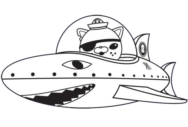 octonauts gup b colouring pages