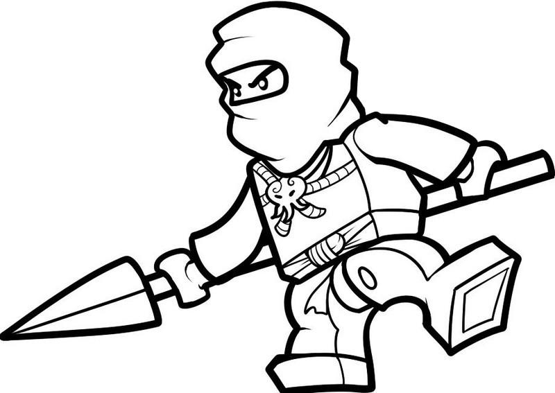 coloriage ninjago jay ninja maître de la foudre 4