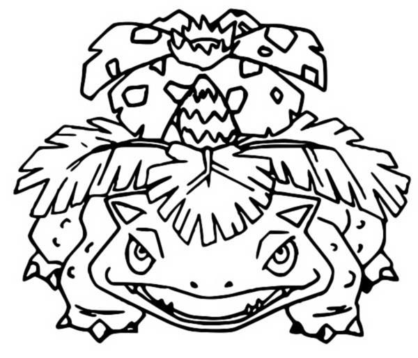 coloriages pokemon florizarre dessins pokemon