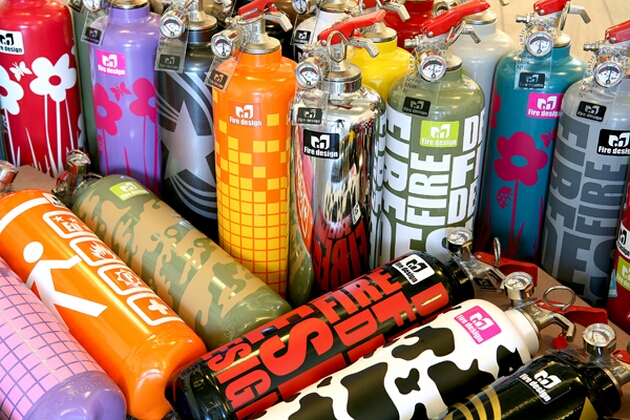 Fire Design - Decorative Fire Extinguishers (4)