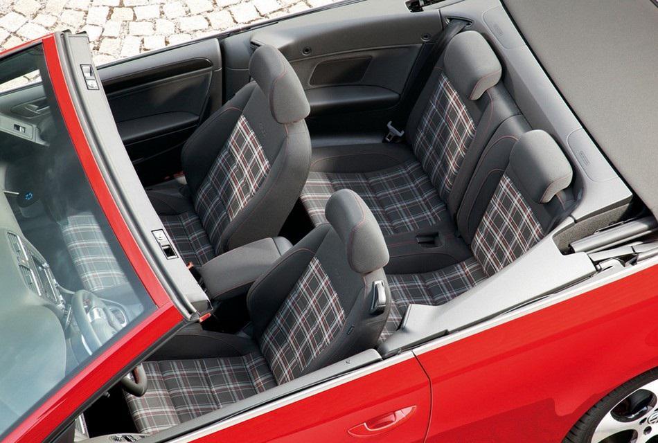Volkswagen 2013 Golf GTI Cabriolet Convertible Car (5)