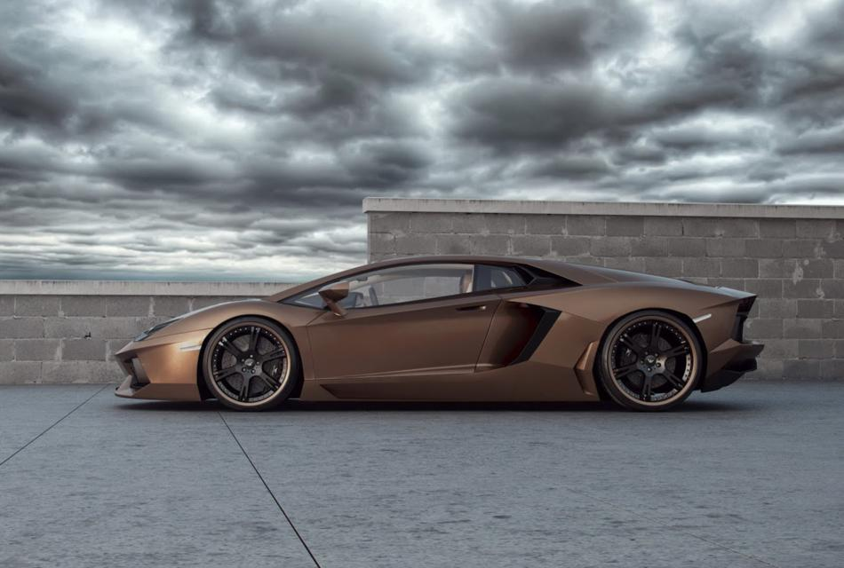 Customized Lamborghini Aventador LP700-4