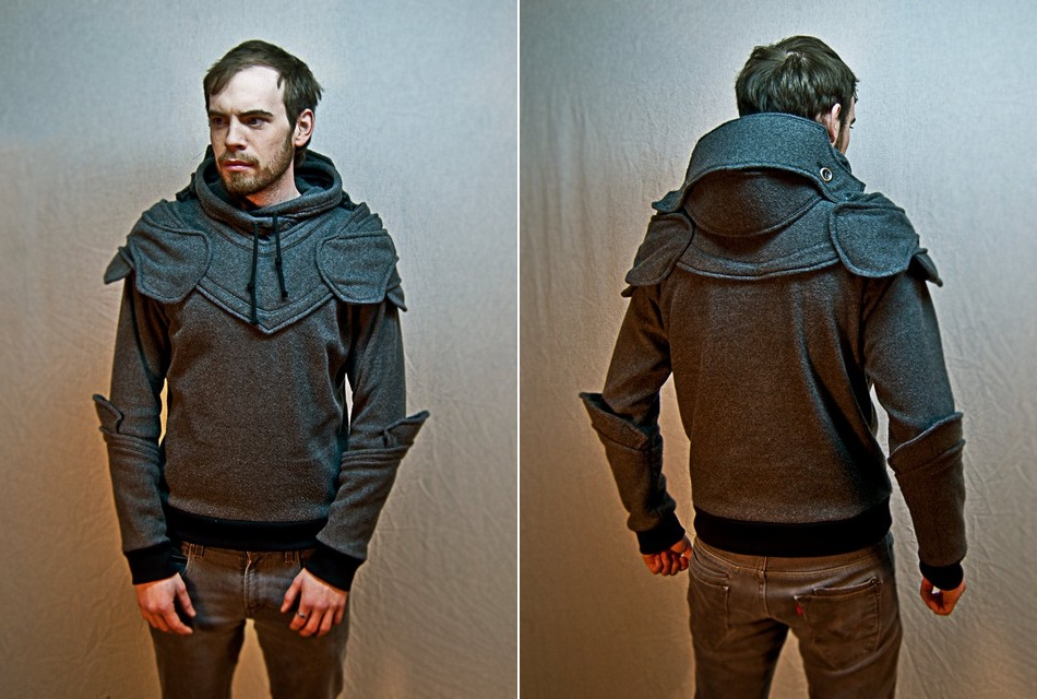 Knight Armored Hoodie (2)