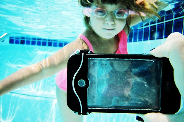 The iPhone Scuba Suit