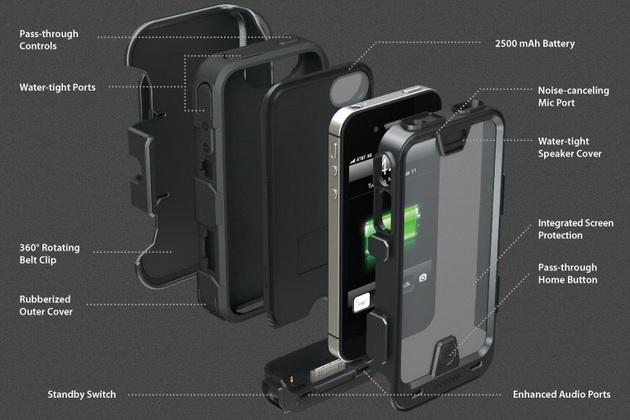Mophie Juice Pack PRO iPhone 4/4S Battery Case (2)