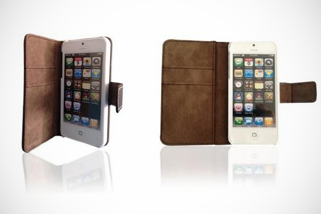 Lambskin Leather Case for iPhone 5 (1)