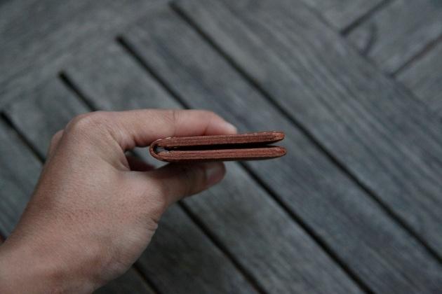 Handmade Ultra Slim Leather Wallet (1)