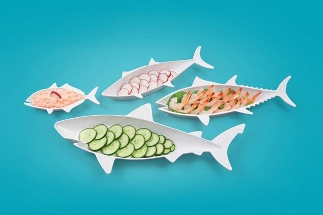Fish-Shaped Food Nesting Dishes (2)
