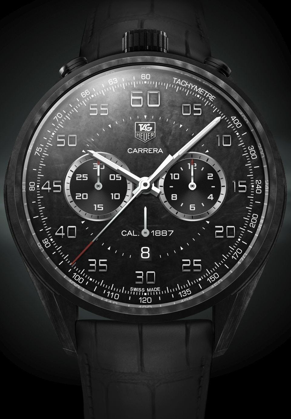 TAG Heuer Carrera Carbon Matrix Composite Concept Chronograph
