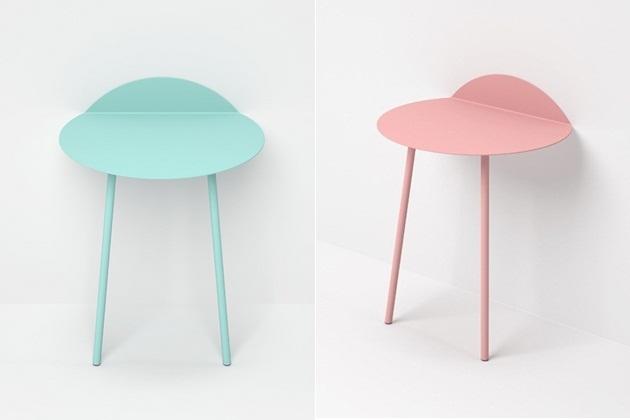 Kaki side table by Kenyon Yeh