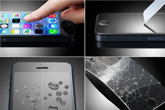 SPIGEN SGP Glass Screen iPhone 5S/5C