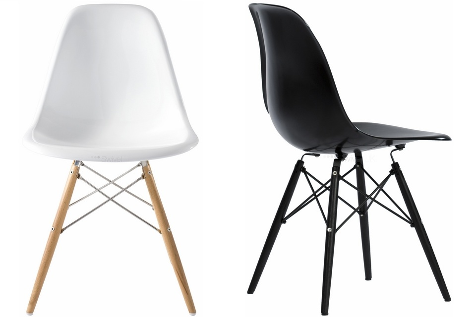 The Charles Eames DSW Chair