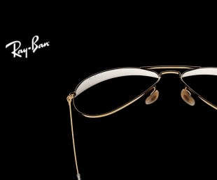 Ray-Ban Aviator Solid Gold (2)