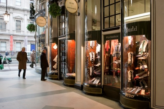 piccadilly arcade budd shirtmakers