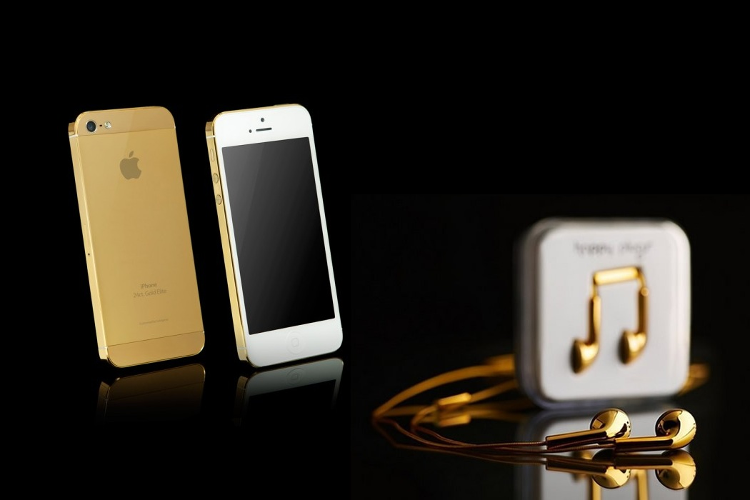 Apple Solid Gold Iphone 5s (1)