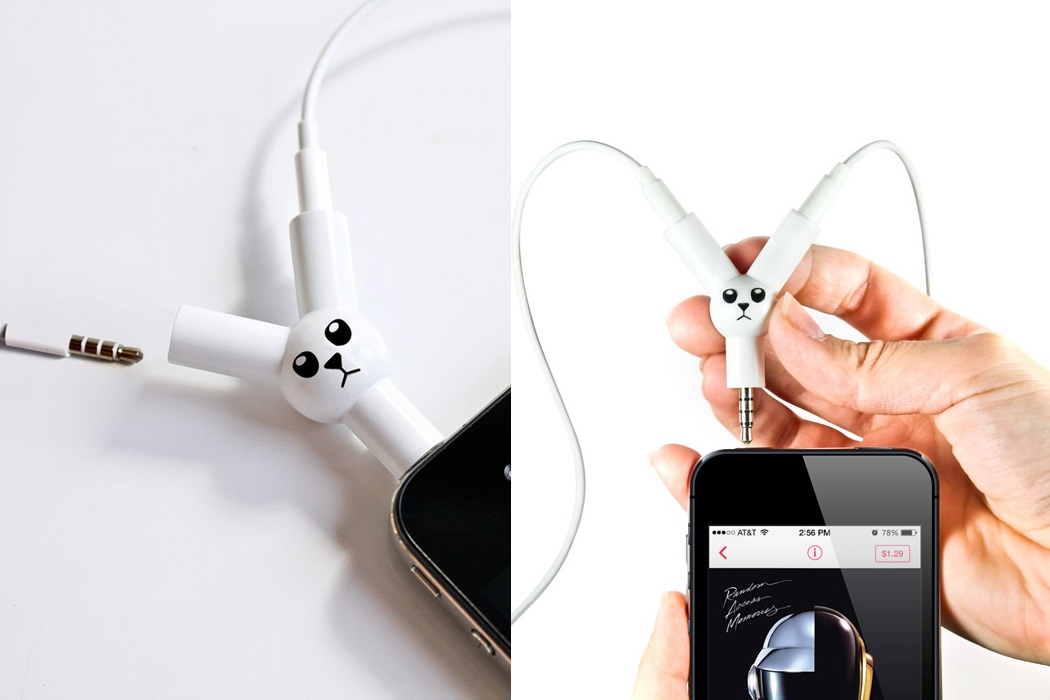 Jack Rabbit Headphone Splitter