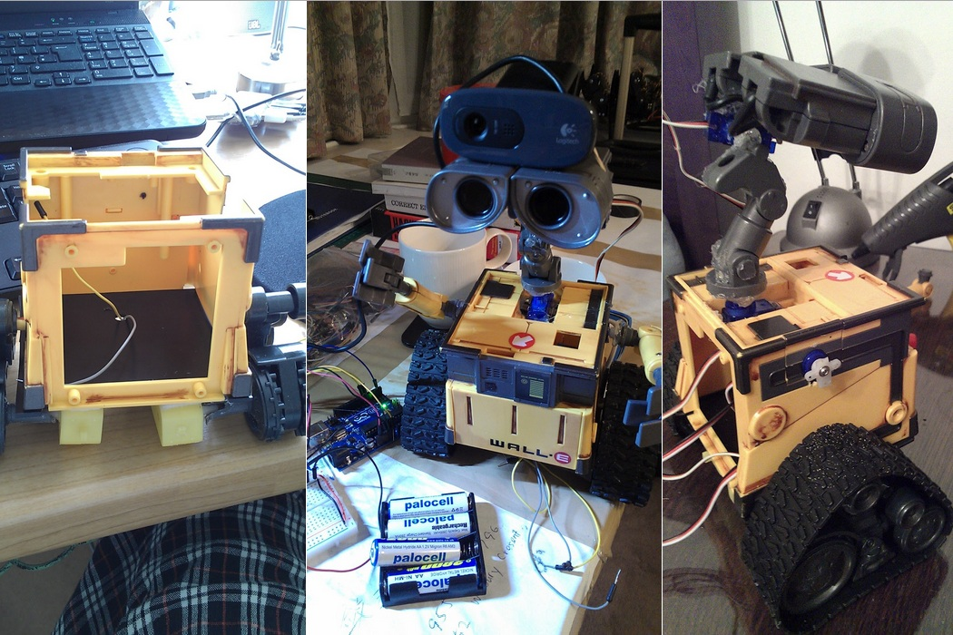 Arduino - Wall-E Robot With Voice Commands (8)