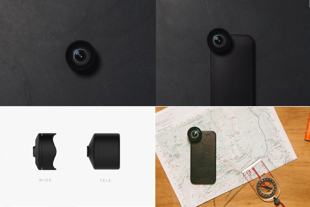 Interchangeable Moment Lens For Mobile Photography