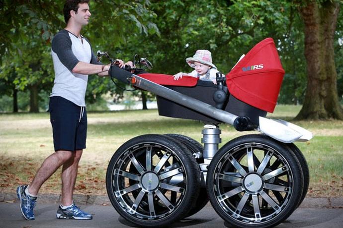 VRS Mega Man Pram Baby Stroller (1)