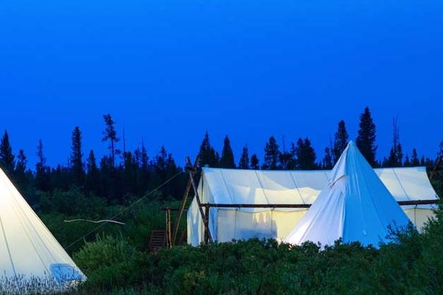 Glacier Under Canvas Luxury Camping
