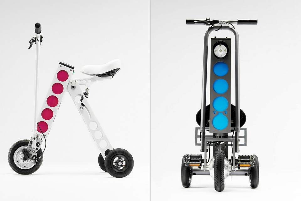 The Worlds Most Compact E-Vehicle