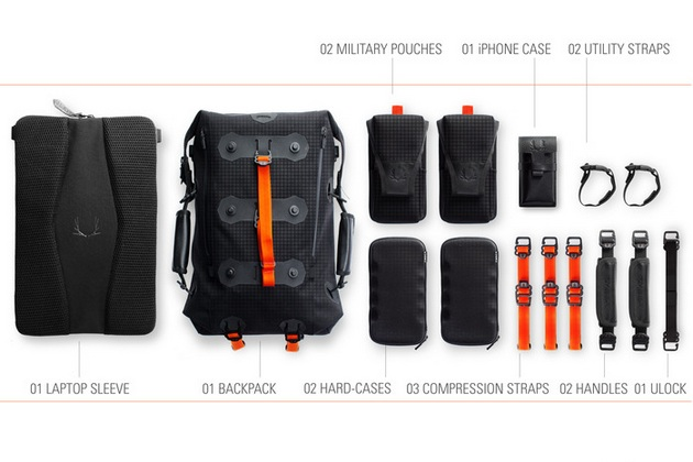 Ember Offers Revolutionary Modular Urban Backpack
