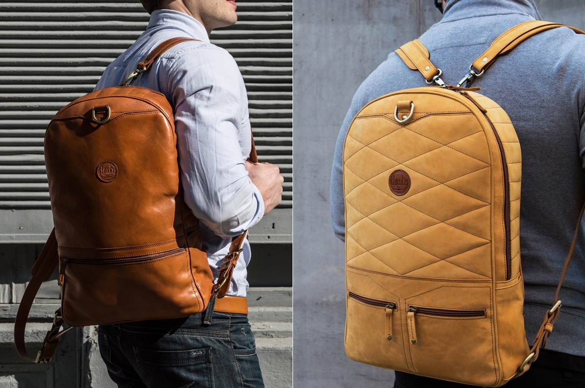 First Two Sided Leather Backpack Revealed on Kickstarter