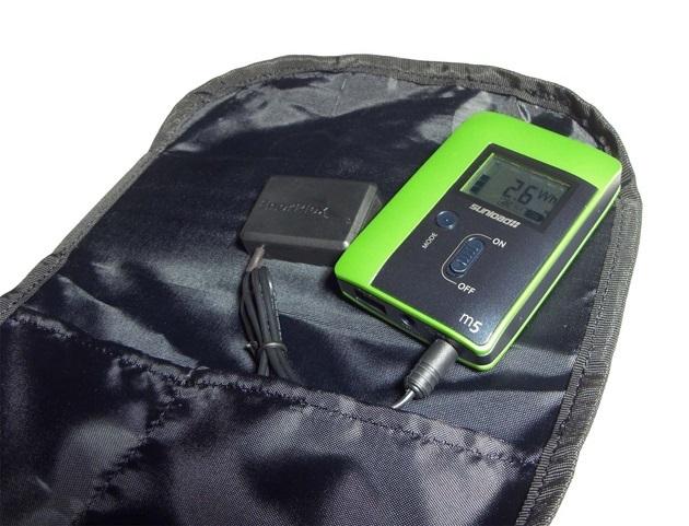 USB Solar Charging Backpack (4)