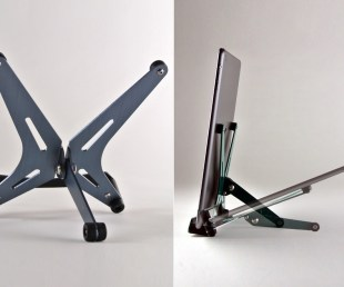 F2 iPad And Tablet Stand With Aerospace Sophistication