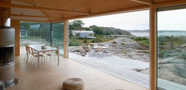 The Slavik Summer Houses by Mat Fahlande