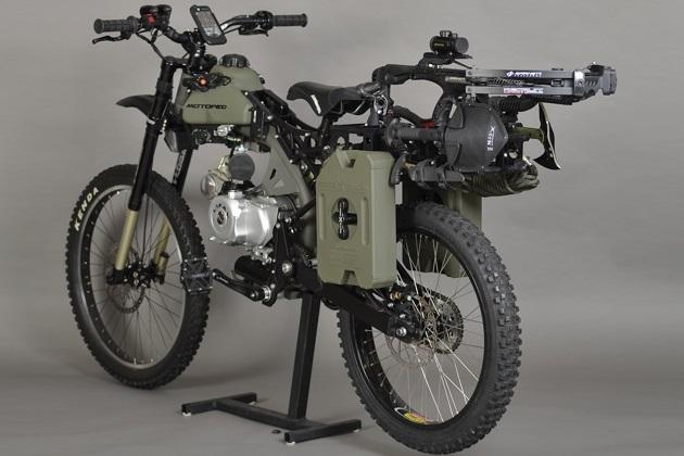 Motoped Survival Bike (5)
