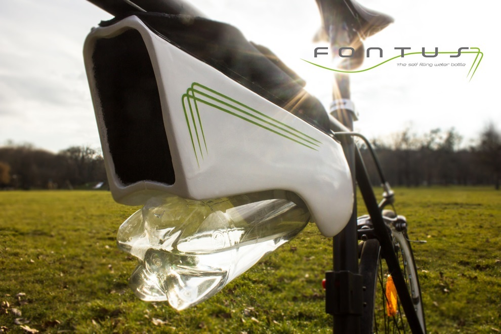 Fontus Self Filling Bottle Condenses Air into Drinking Water (1)