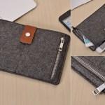 Grey Felt iPad Sleeve