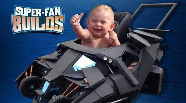 How to Make Your Child Batman When Hes Still Toddler