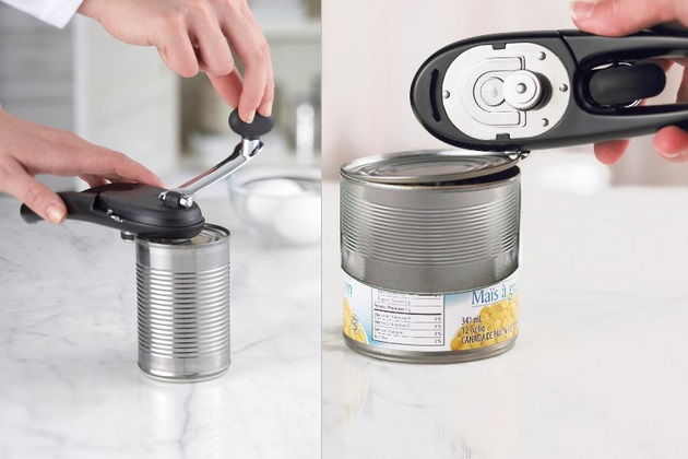 Trudeau Stress Less Safety Can Opener