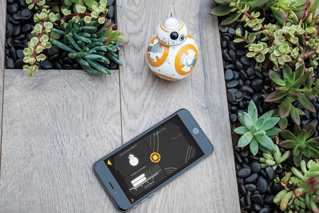Sphero Star Wars BB-8 App-Enabled Droid Toy (6)
