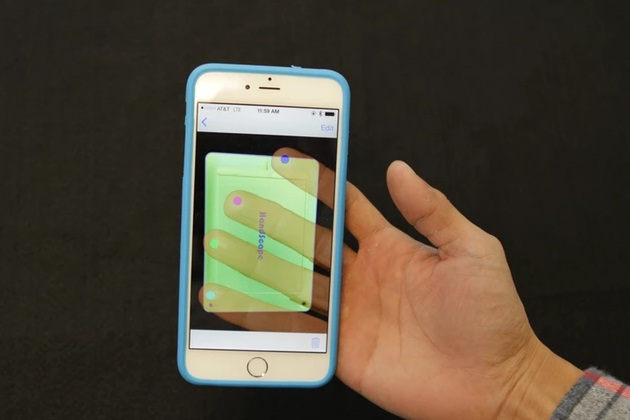 Turn Your iPhones Back into Transparent Touchscreen
