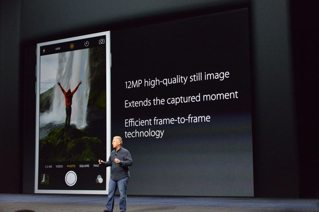 iPhone 6S and 6S Plus Announced with 3D Touch Live Photos 12 MP Camera 4k Video (2)
