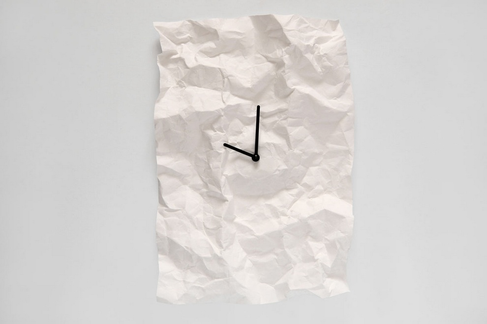 NEW-TIME Wall Clock by Veronika Szalai (4)