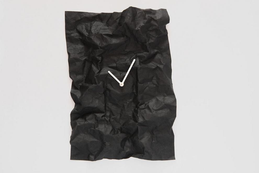 NEW-TIME Wall Clock by Veronika Szalai (5)