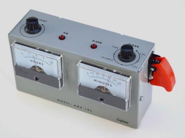 Voltmeter Analog Alarm Clock (2)