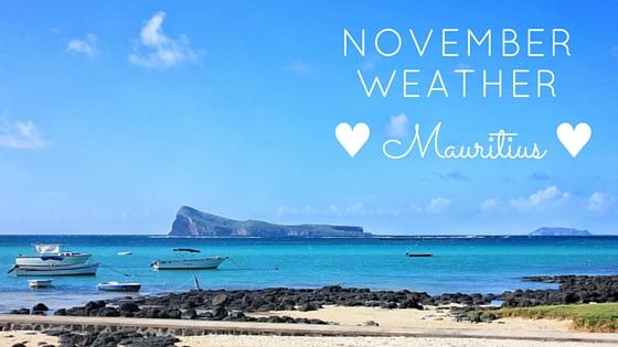 mauritius november weather