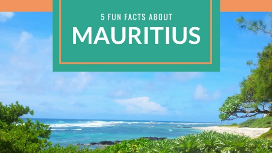 5 fun facts about Mauritius
