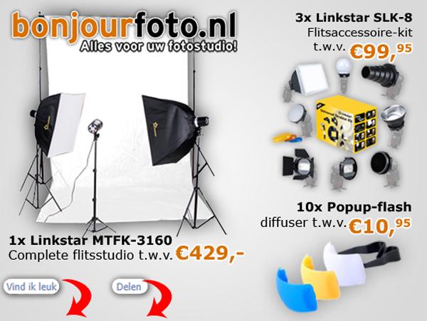 BonjourFoto.nl Share&Win Actie!