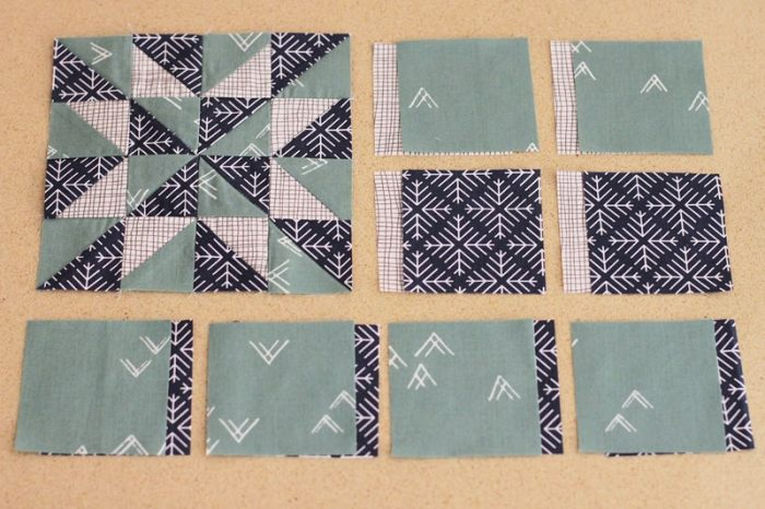 Margaret - Block #57 in the Farmer's WIfe 1930s Sew Along, blogged by Kirsty at Bonjour Quilts