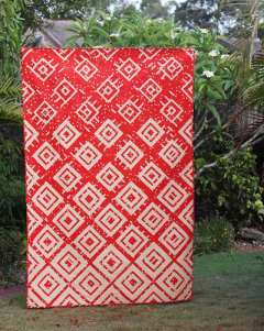 Wildfire quilt - by Kirsty at Bonjour Quilts. Quilt pattern available.
