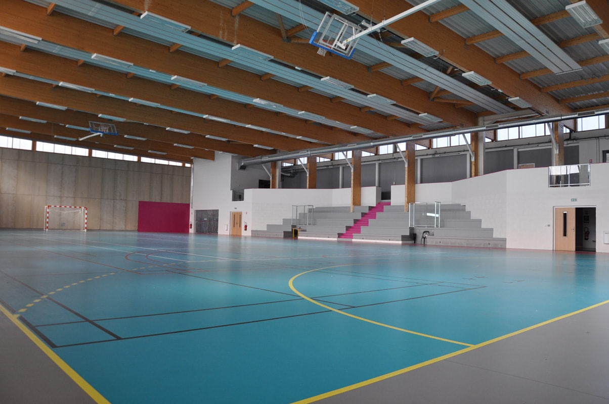Gymnase Site De La Commune De Bonnac La Cte
