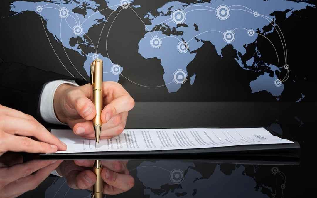 Contrat commercial international : avantages du traducteur assermenté