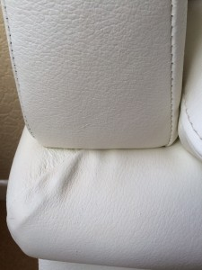 Cat scratch leather repair