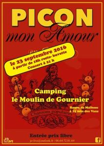 Picon Mon Amour- Moulin de Gournier 23 9 16